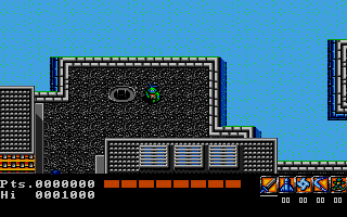 Screenshot of Teenage Mutant Hero Turtles