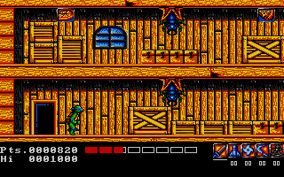 Screenshot of Teenage Mutant Hero Turtles