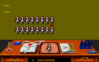Screenshot of Charge of the Light Brigade