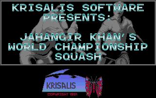 Screenshot of Jahangir Khan's World Championship Squash