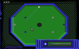 Screenshot of Billiards Simulator 2