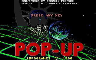Screenshot of Pop-up