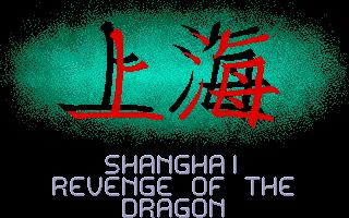 Screenshot of Shanghai Revenge Of The Dragon