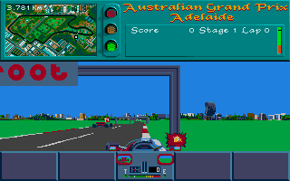 Screenshot of Vroom Multi-Player