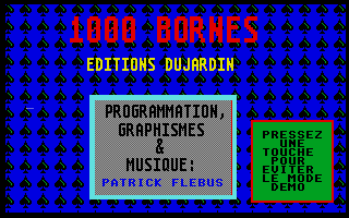 Screenshot of 1000 Bornes