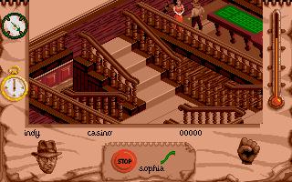 Screenshot of Indiana Jones and the  Fate of Atlantis