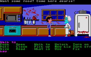 Screenshot of Maniac Mansion