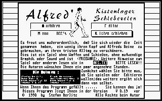 Screenshot of Alfreds Kistenlager Schiebereien