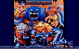 Screenshot of Ghosts & Goblins