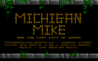 Thumbnail of other screenshot of Michigan Mike & the Lost City of Zorog