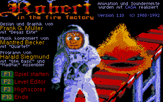 Thumbnail of other screenshot of Robert In The Fire Factory