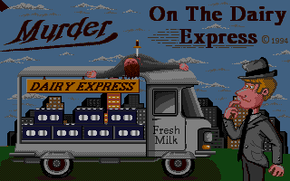 Screenshot of Murder On Dairy Express