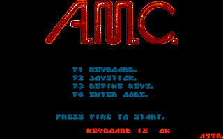 Screenshot of A.M.C. - Astro Marine Corps