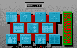 Screenshot of 1st Division Manager