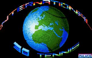 Screenshot of International 3D Tennis