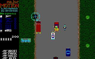 Screenshot of Major Motion