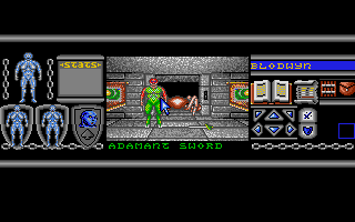 Screenshot of Bloodwych - The Extended Levels