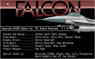 Thumbnail of other screenshot of Falcon