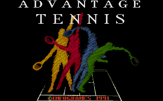 Screenshot of Advantage Tennis