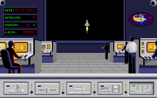 Screenshot of E.S.S. - European Space Simulator