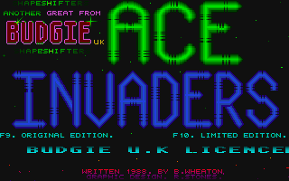 Screenshot of Ace Invaders