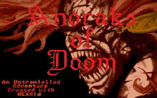 Screenshot of Anoraks of Doom