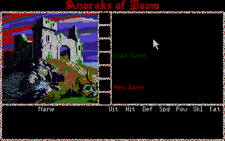 Thumbnail of other screenshot of Anoraks of Doom