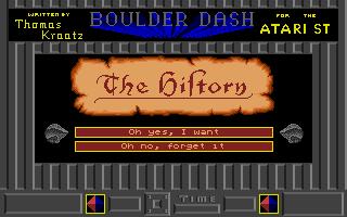 Thumbnail of other screenshot of Boulder Dash