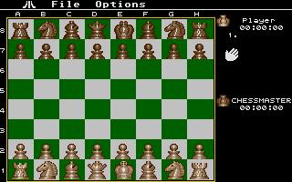 Screenshot of Chessmaster 2000, The