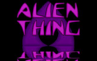 Screenshot of Alien Thing