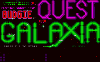 Thumbnail of other screenshot of Quest For Galaxia, A