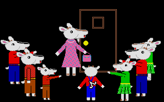 Screenshot of Wolf And The 7 Kids, The