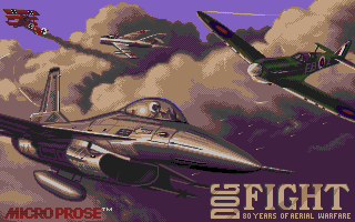 Screenshot of Dogfight - 80 Years Of Aerial Warfare