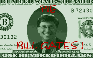 Screenshot of Pie Bill Gates