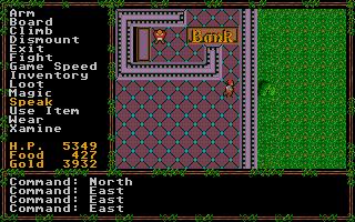 Screenshot of Questron II