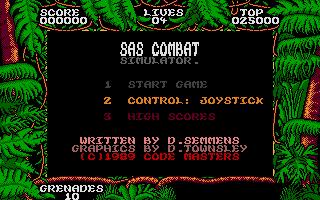 Screenshot of SAS Combat Simulator
