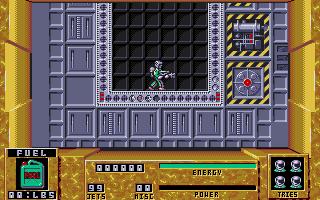 Screenshot of Dan Dare 3 - The Escape