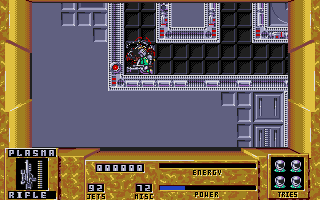Thumbnail of other screenshot of Dan Dare 3 - The Escape