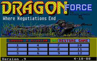 Thumbnail of other screenshot of Dragon Force Where Negotiations End