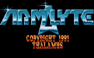 Screenshot of Armalyte - The Final Run