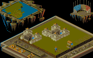 Screenshot of Populous II: Trials Of The Olympian Gods