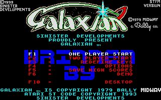 Screenshot of Galaxian