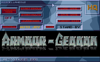 Thumbnail of other screenshot of Armour-Geddon