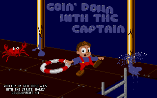 Thumbnail of other screenshot of Goin' down with the Captain