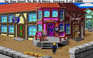 Screenshot of Hero's Quest