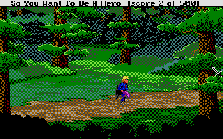 Thumbnail of other screenshot of Hero's Quest