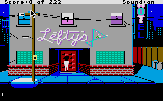 Thumbnail of other screenshot of Leisure Suit Larry 1 - In the Land of the Lounge Lizards