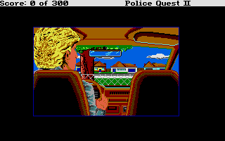 Thumbnail of other screenshot of Police Quest 2 - The Vengeance