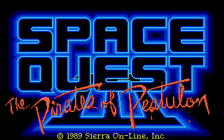 Screenshot of Space Quest III - The Pirates Of Pestulon