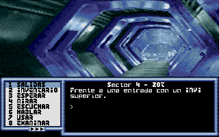 Screenshot of Aventura Espacial, La